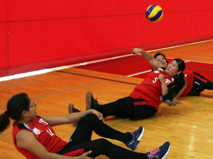Selección femenina de voleibol sentado