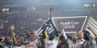 Tottenham Hotspur campeón de la Audi Cup