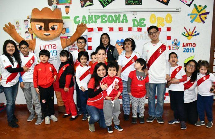 15 niños que esperaban con ansias a la Embajadora de Lima 2019, Dunia Felices