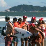 Delegación peruana de surf en los ISA World Surfing Games de Miyazaki, Japón