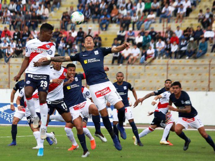 Deportivo Municipal le empataron 2-2 en los minutos finales de penal en Trujillo a Alianza Lima