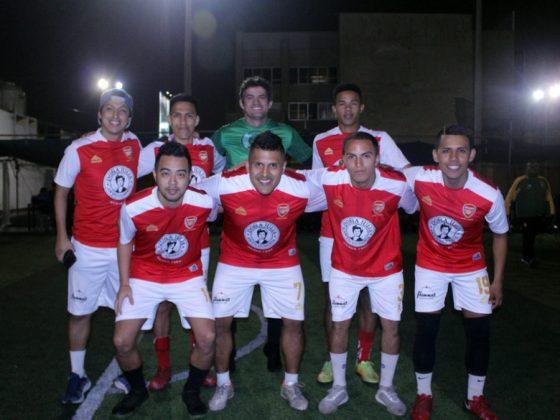 Este equipo es Colombia (Arsenal FC) que jugará con Qatar (Real FC) - Copa Todo Sport