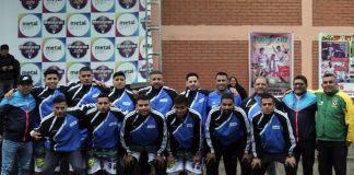 Este es el equipo de Reumasol FC, los mejores uniformados