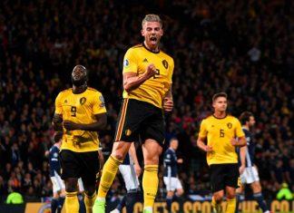 Eurocopa del 2020, Bélgica apabulló a Escocia