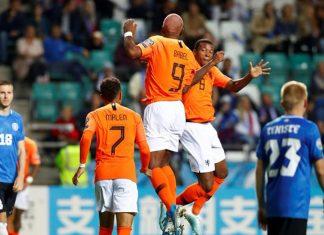Eurocopa del 2020, Holanda goleó 4-0 a Estonia