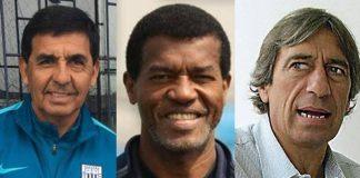 Jaime Duarte, Julio César Uribe y Germán Leguía