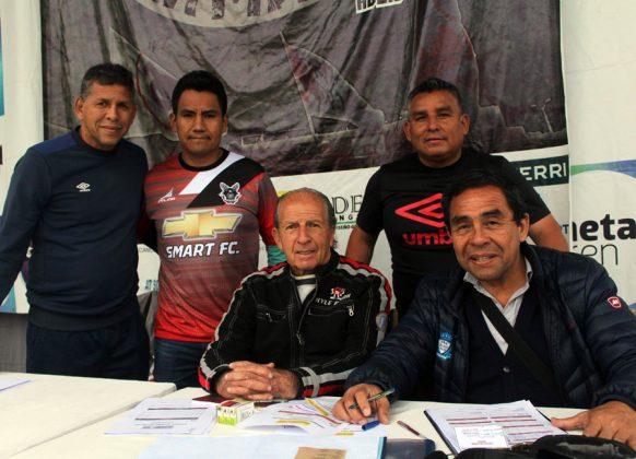 José Luis Carranza, Jorge Arriola, LAS, Franklin Cárdenas y Mario Miranda