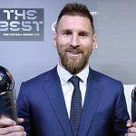 Lionel Messi ganó por primera vez en su carrera, el premio The Best otorgado por la FIFA