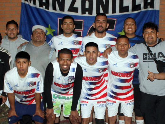 Manzanilla FC (Paraguay) que llevó a su fervorosa hinchada