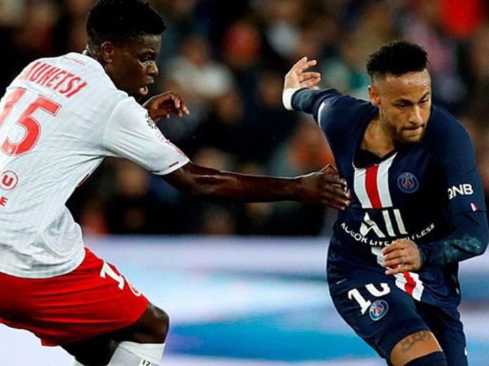 PSG con Neymar perdió de local 2-0 ante Remis