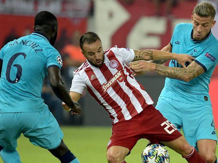 Tottenham empato 2-2 ante Olympiacos