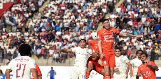 """""""U"""" logró un valioso empate sin goles ante la Vallejo en Trujillo"""