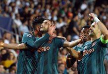 Ajax derrotó 3-0 al Valencia