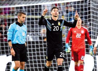 Argentina emprtó 2-2 con Alemania