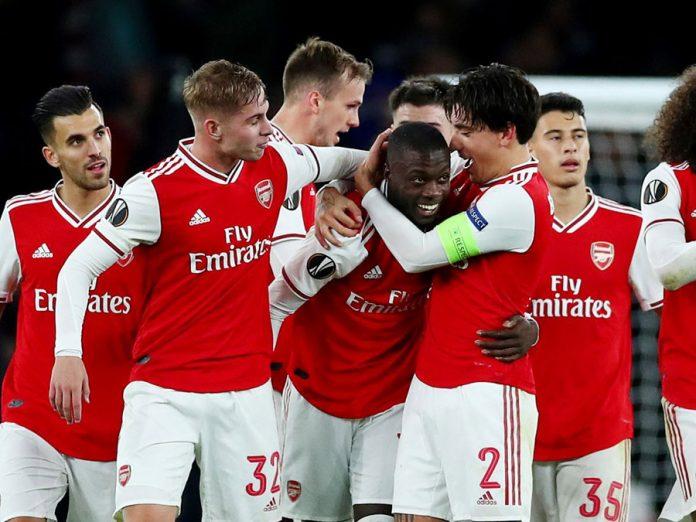 Arsenal volteó el partido 3-2 a Guimaraes