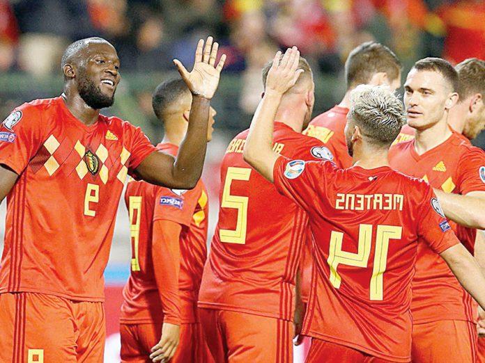 Bélgica humilló 9-0 a San Marino