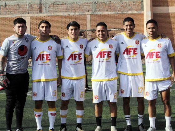 BOLIVIA (AFE Cosmos), uno de los favoritos. Loable su comportamiento y además jugaron muy bien - Copa Todo Sport