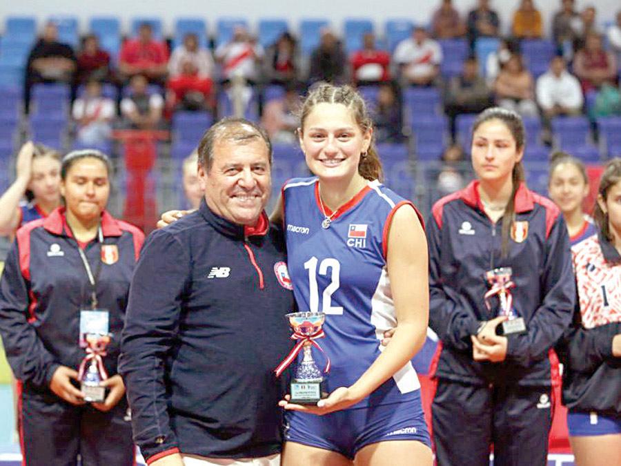 Chile campeon de VI Sudamericano de Voleibol