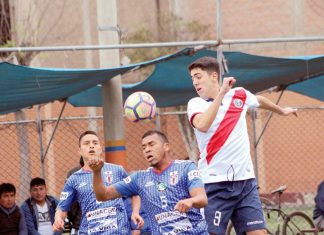 Escena del partido entre Japón (Géminis) y Muni Futsal (Perú) - Copa Todo Sport