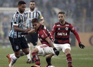 Gremio de Porto Alegre y Flamengo