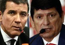 Gustavo Zevallos y Agustín Lozano