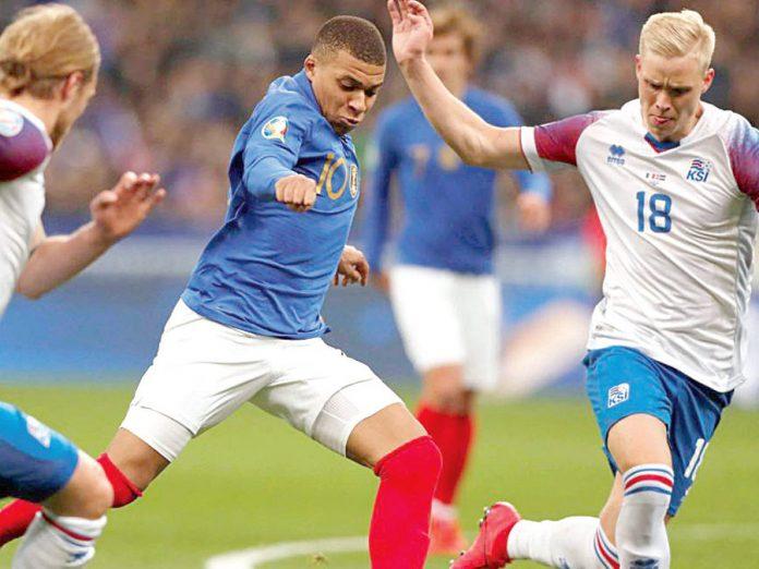 Islandia vs Francia