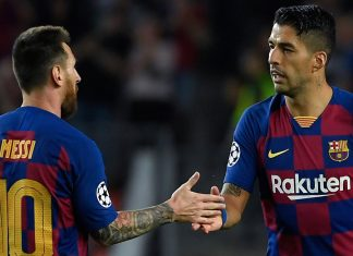 Lionel Messi y Luis Suarez