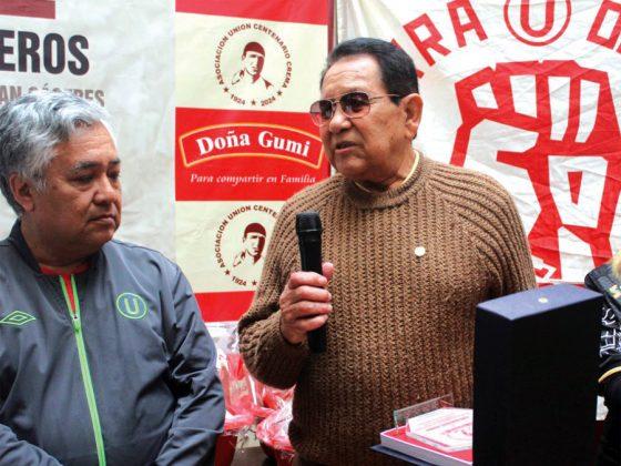 Lucho Rubiños también fue reconocido