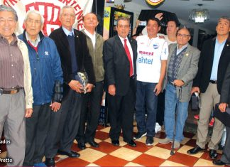 Manuel Calderón Pretto, homenajeó a los arqueros que hicieron historia en el club merengue