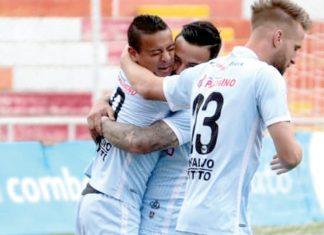 Real Garcilaso venció a la Universidad César Vallejo 2-0