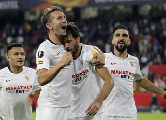 Sevilla aplastó 3-0 a Dudelange