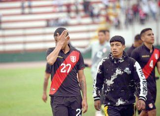 Sub 23 de Perú cayó goleado 0-3 frente a su similar de Colombia