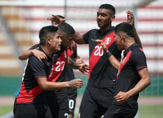 Sub 23 de Perú se impuso 1-0 ante Colombia