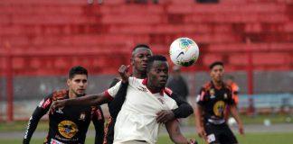 UTC le ganó 2-0 a Ayacucho FC