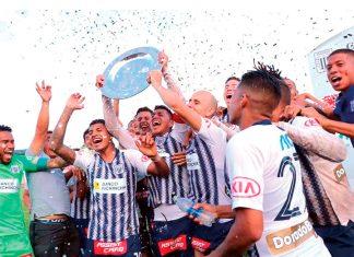 Alianza Lima venció 3-2 a Unión Comercio en Moyobamba