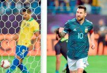 Argentina le ganó 1-0 con gol de Messi