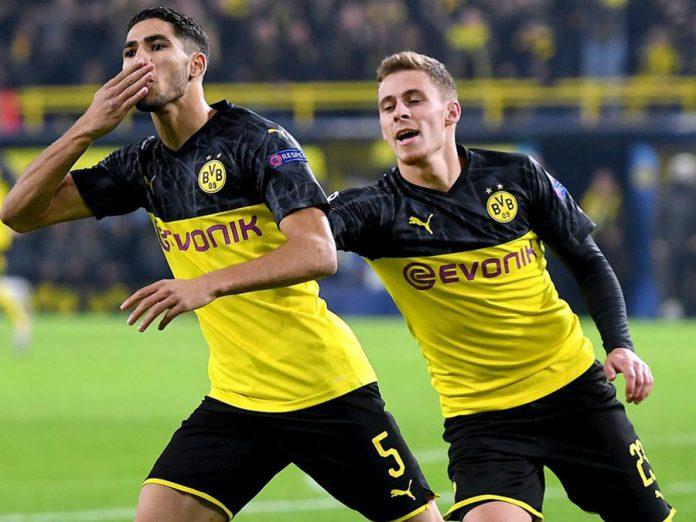 B. Dortmund le volteó el partido al Inter y lo derrotó 3-2