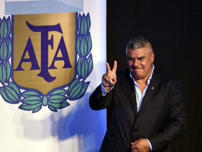 Claudio Tapia, Presidente de la Asociación Argentina de Fútbol