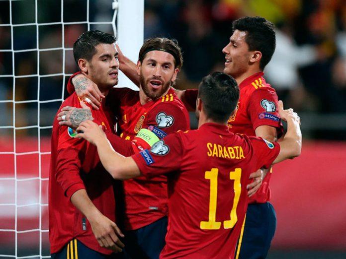 España aplastó a Malta 7-0 - clasificando a Eurocopa 2020