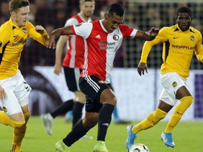Feyenoord con Renato Tapia igualó 1-1 ante Young Boys