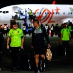 Flamengo llegó a Lima en horas de la noche