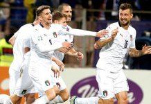 Italia goleó 3-0 a Bosnia y alcanzó su noveno triunfo consecutivo