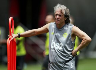 Jorge Jesús, entrenador del Flamengo