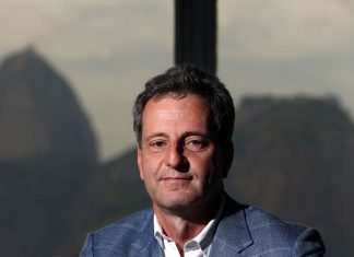 Presidente del Flamengo, Rodolfo Landim