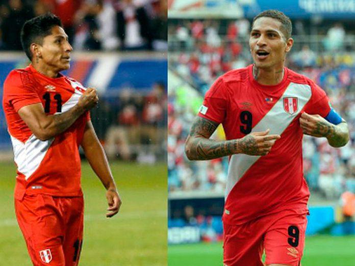 Raúl Ruidíaz y Paolo Guerrero