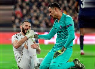 Real Madrid y PSG lo empataron 2-2