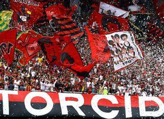 Torcida hinchas del Flamengo