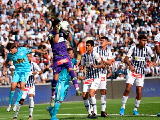 A pesar de sus problemas personales, Gallese estuvo seguro y sacó varias pelotas de gol