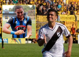Alexander Succar y uruguayo Jonathan dos Santos