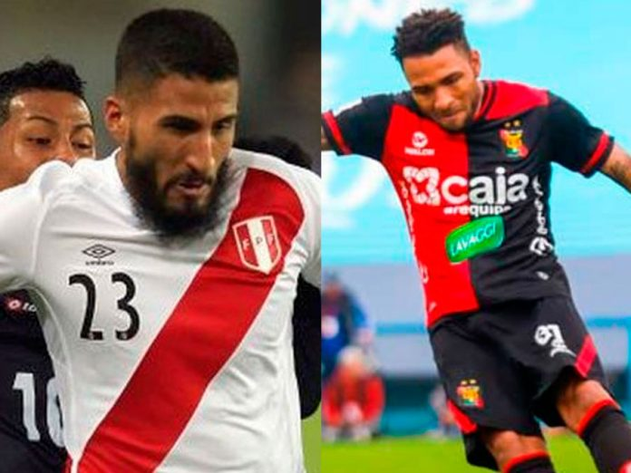 Alexi Gómez y Josepmir Ballón